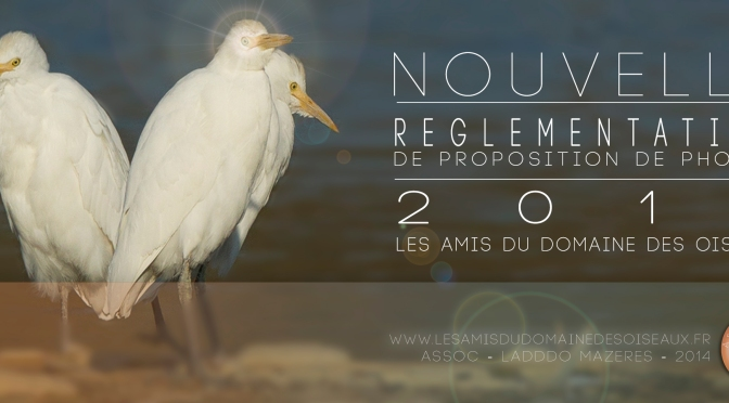 Nouvelle réglementation 2014 (Proposition de photos)