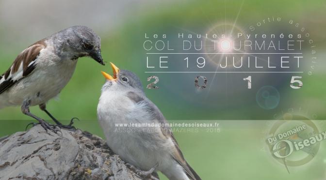 SORTIE ASSOCIATIVE COL DU TOURMALET 19 JUL 2015