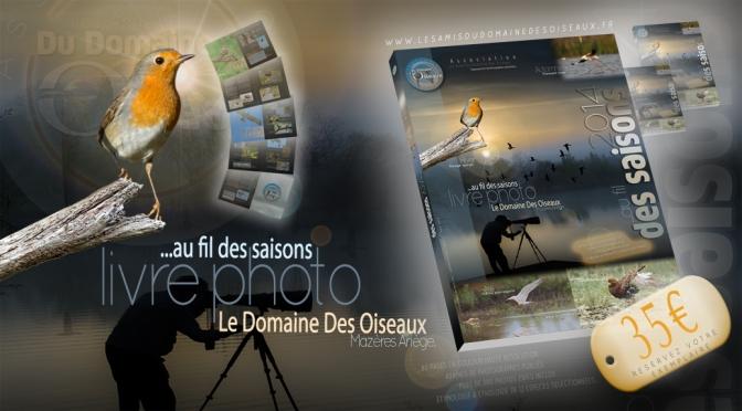 Précommandez votre livre photo ! …au fil des saisons 2014