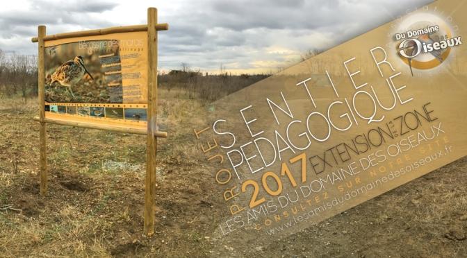 Sentier pédagogique – TRAVAUX 2017