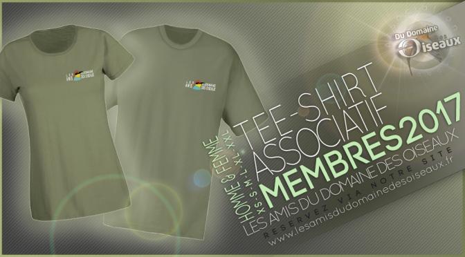 Tee-shirt associatif 2017