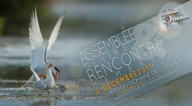AG & RENCONTRE MEMBRES le 3 Dec 2017