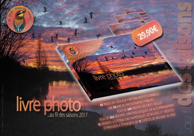 Précommandez votre livre photo ! «…au fil des saisons 2017»